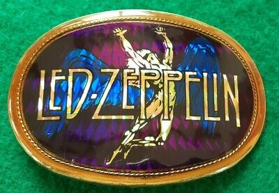 Led Zeppelin 1977 Pacifica Collectible Prism Belt Buckle • 19.99£