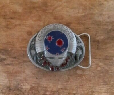 'Grateful Dead' SPACE YOUR FACE Belt Buckle  Limited Edition 1 Of 3 Buckle Set • 50£