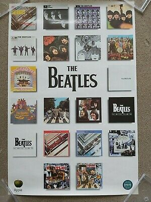 Beatles Original Uk Promo Poster 30  X 20   • 14.99£