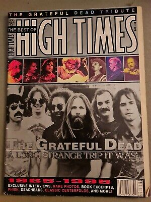 Best Of High Times Grateful Dead Limited Edition Captain Trips Poster • 24.99£