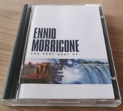 ENNIO MORRICONE Minidisc! - THE VERY BEST OF + Inlay & Library Case. Virgin 2000 • 60£
