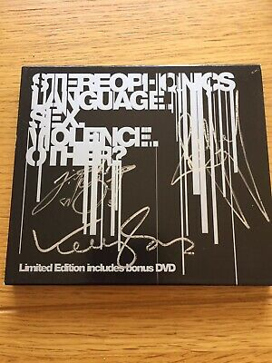 Stereophonics -language Sex Violence Other Signed Ltd Edition  • 0.99£