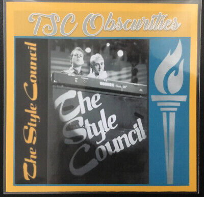 """The Style Council Weller Rare Bootleg CD """"Obscurities"""" 18 Trax Fred Perry Pins • 1.75£"""