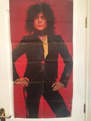 Vintage Marc Bolan Jackie Magazine Poster In 3 Parts (collected Over 3 Weeks) • 11.99£