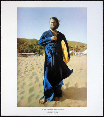 The Beach Boys Brian Wilson Poster Page . T24 • 12.99£