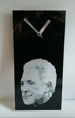 Tom Jones Portrait Music Acrylic Polished Edged Wall Clock 300x150x2mm, • 14.99£