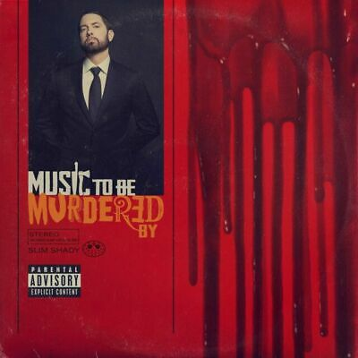 EMINEM -  MUSIC TO BE MURDERED BY CD (Explicit) (New And Sealed) • 4.99£