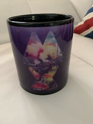 Coldplay Black Mug Concert Mylo Xyloto Tour 2012 Unused • 15.99£
