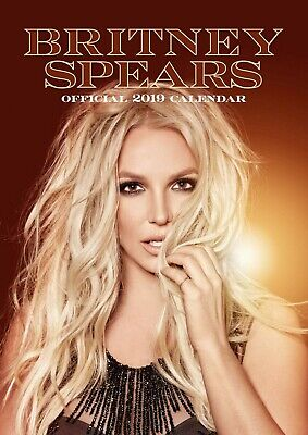 Britney Spears 2019 Calendar * New And Sealed * • 9£