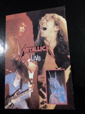 METALLICA Live - Collectable Postcard Vintage  • 1.95£