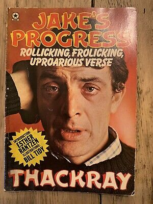 Jake Thackray Very Rare Book - Rollicking Frolicking Uproarious Verse • 37£