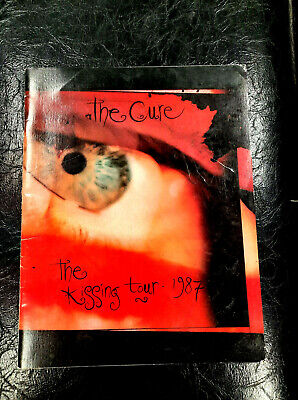 The Cure The Kissing Tour 1987 Vintage Concert Booklet Collectors Item G To VG • 37.52£
