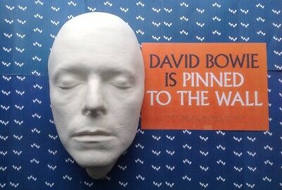 David Bowie Life Mask The Hunger Official V&A Merchandise [Rare Display) • 89£