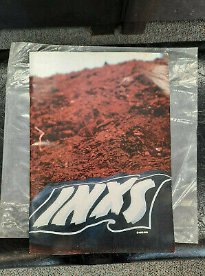 INXS Listen Like Thieves World Tour 1986 Vintage Concert Program Book Collectors • 32.19£