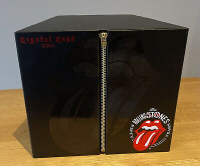 Rolling Stones 50th Anniversary Limited Vodka Crystal Head With Double CD Album • 199.95£