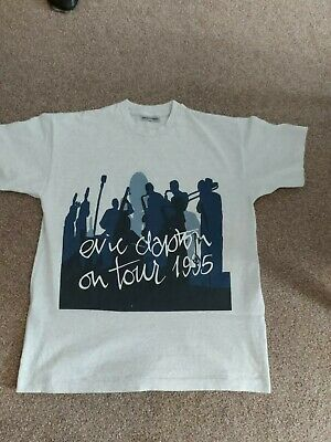 Eric Clapton T Shirt 'on Tour 1995'  ( X Large) • 28£
