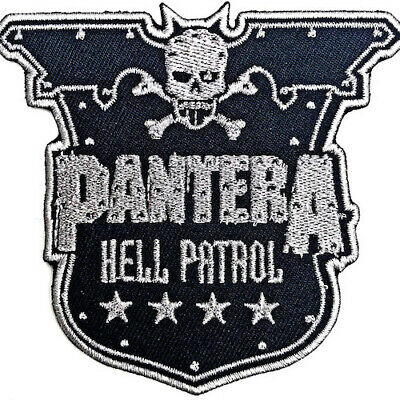 PANTERA Hell Patrol : Woven IRON-ON PATCH 100% Official Licensed Merch • 4.29£