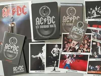 Ac/dc Let There Be Rock Ltd Edition French Dvd Box Set Booklet / Photos /poster • 89.99£