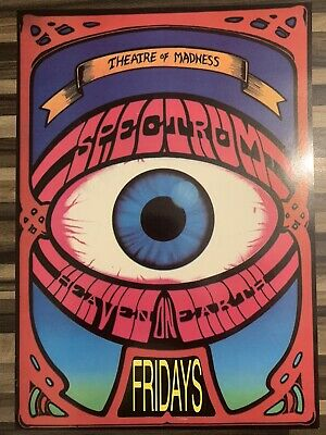 Spectrum Theatre Of Madness Heaven On Earth Rare Rave Flyer November 1991 • 9.99£