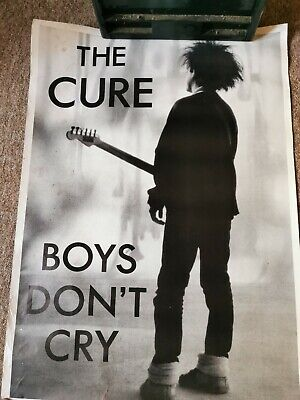 The Cure Boys Don't Cry Vintage Poster Original Music Memorabilia Pin-up • 50£