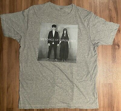 U2 Songs Of Experience T-shirt - Brand New - Official Merchandise • 7.77£