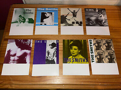 THE SMITHS POSTCARDS 8 X Vintage The Smiths Morrissey Postcards • 9.99£