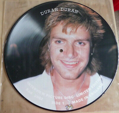 Duran Duran –  Collectable Interview Picture Disc • 12.99£