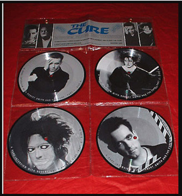 The Cure / Robert Smith - 4 X 7 Inch Picture Disc Set - Double Sided  • 19.99£