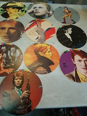 Bowie - FASHIONS - Mobile - Shop Display - Discs Only • 39£