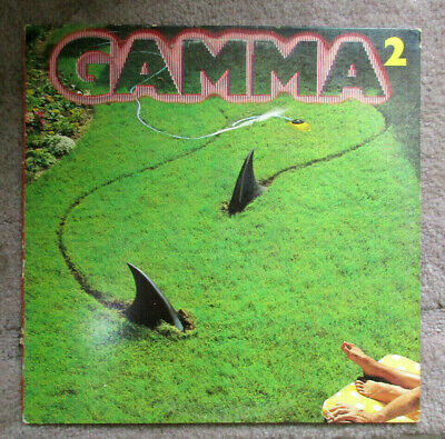 Gamma 2 Shark Lawn  Lp Cover ,cover Only • 18.75£