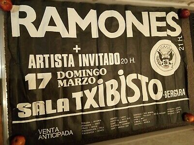 The Ramones  Very Rare Tour Poster 17th March 1991 • 30£