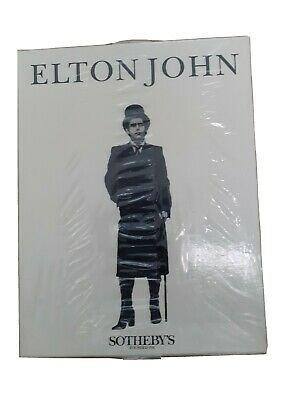Elton John Sotheby's Catalogue Book • 25£