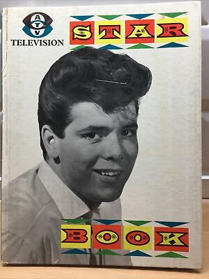 Vintage ATV Television TV Show Book With All The Top Pop Stars 1961 • 0.99£