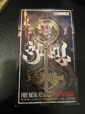 Ghost (Sweden) Band Keyring From Metal Hammer Magazine Unused Hard Rock • 10.50£
