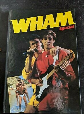 George Michael - WHAM Special - Softback Annual - 1984  • 9.50£