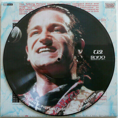 U2 / Bono Interview - Double Sided Picture Disc - Very Collectable • 12.99£