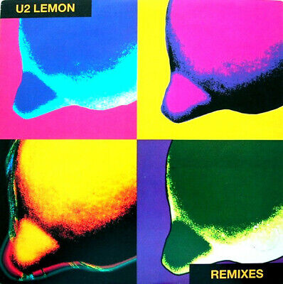 U2 - Lemon - Limited Edition YELLOW Vinyl - Morales Remixes - Very Collectable • 24.99£