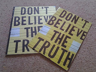 OASIS ( Noel / Liam Gallagher ) - Don't Believe The Truth Tour Programme • 19.99£