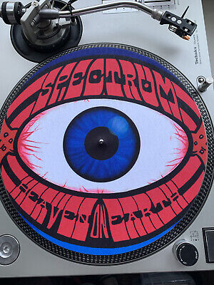"12"" Slipmat Spectrum Rave Flyer • 10£"