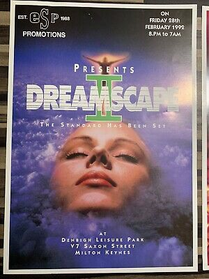 Dreamscape 2  And 3 Flyers • 15.99£