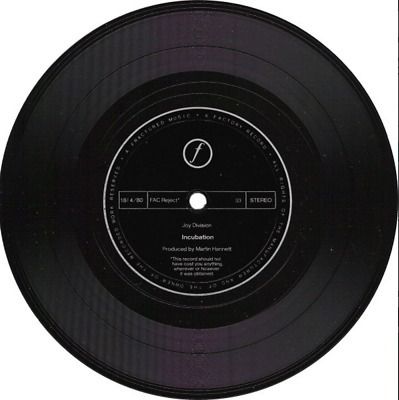 JOY DIVISION – Incubation / Komakino – Limited 7 Inch Flexi Disc – Collectable • 32.99£