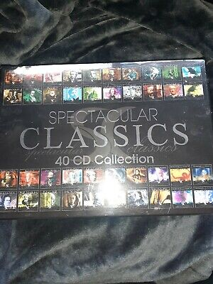Spectacular Classics 40 Cd Collection • 15£