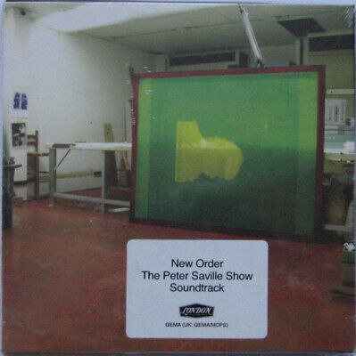 NEW ORDER / Peter Saville Show Soundtrack ( Factory Records ) - Limited Edition • 24.99£