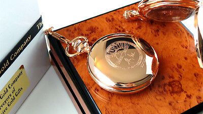 JOHNNY CASH Signed Rose Gold Clad Autographed POCKET WATCH LUXURY Lux Case • 32.99£