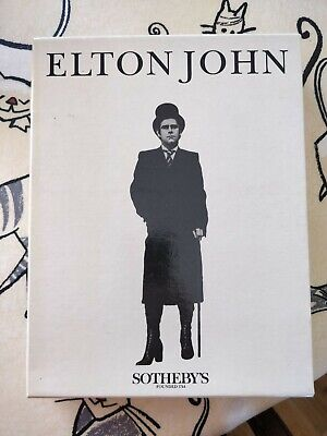 1988 Elton John Sothebys Auction Catalogue Collection • 69.99£