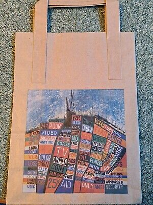 Radiohead Hail To The Thief Paper Bag & 3 Other Items.  See Description  • 17.99£