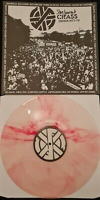 Crass Records Demo A Ultra Rare Record 1 Of 1 Signed By Steve Ignorant  • 50£