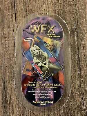 Britney Spears Cell Phone Wireless Fan Access Open Rare Collectable  • 53.64£