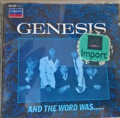 Genesis/Peter Gabriel - And The Word Was...Rare Import CD • 5£