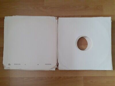 Large Mixed Lot Of Approximately 150 Paper 12  LP Record Inner Sleeves • 9.99£